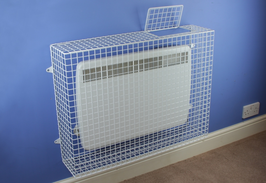 Aiano wire mesh panel heater guards