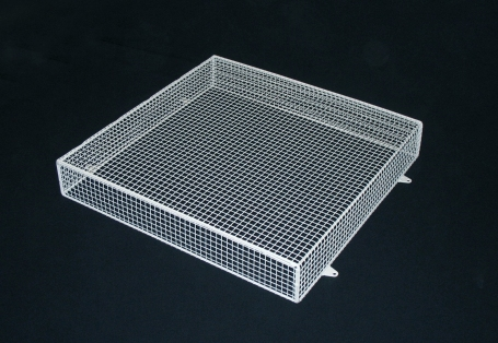 "Aiano's FLFan/W fan guard made from ½ x ½""mesh for extra safety"