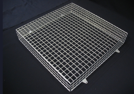 Aiano's galvanised fan guard FLS/FGT for outdoor use