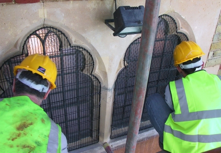 Aiano's offers services for churches including site surveys and installation