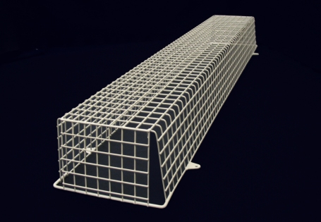 AIANO Vario fluorescent light guards and LED batten guards