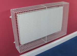 AIANO wire mesh guard for the Dimplex QRAD200 heater electric radiator
