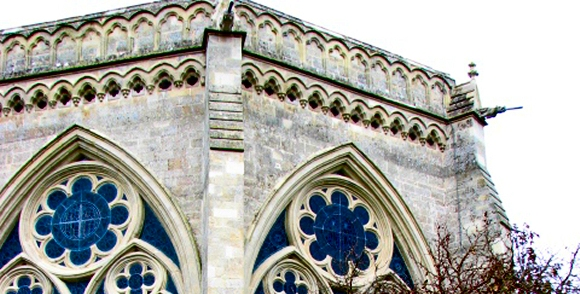 Aiano's made traditional window guards to protect Salisbury Cathedral Chapter House