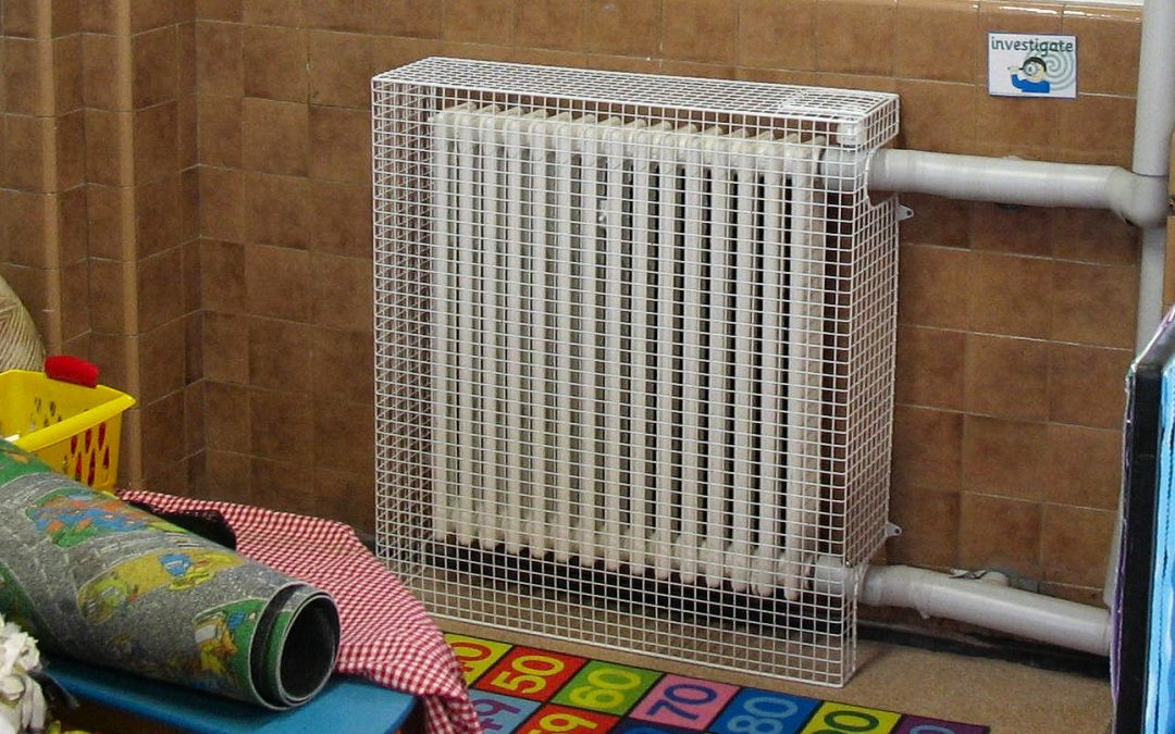 AIANO heater guards and installation service for Hanover Primary School