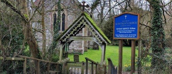 AIANO Weld Mesh Church Window Guards for St. Swithin's Church, Headbourne Worthy