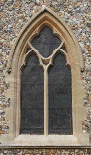 AIANO traditional window guards at St Mary's church