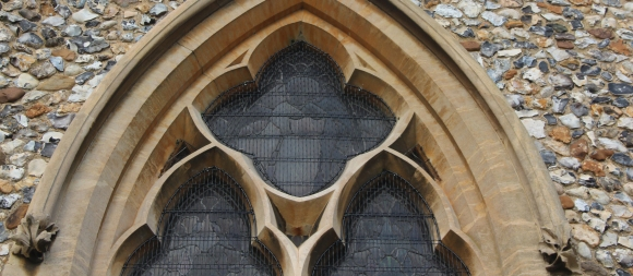 AIANO Jewels: traditional window guards for St Mary's, Farnham