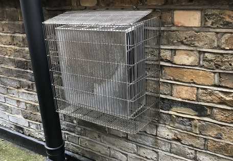 AIANO makes outdoor flue guards and terminal guards