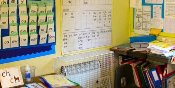 AIANO wire mesh heater guards were installed in Dollis Junior School in North London