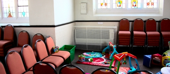 AIANO DRU Art heater guards for Oasis Christian Centre