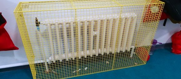 AIANO supplies wire mesh radiator guards for schools