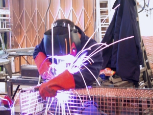 AIANO welders and fabricators manufacture each guard  at our London workshop