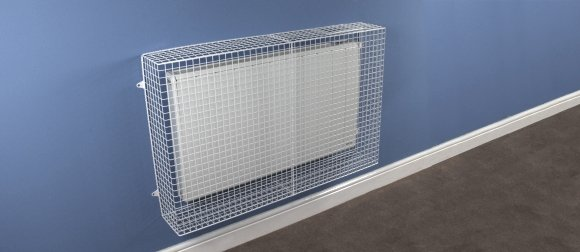 AIANO wire mesh guards For Dimplex Q-Rad electric radiators