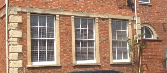 AIANO internal window guards for St Paul's Old School, Cheltenham