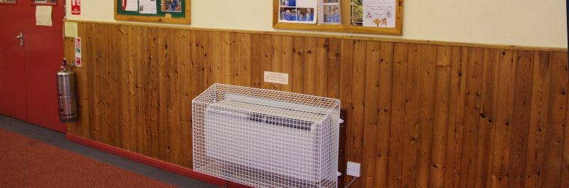 East Barnet Scouts - AIANO Sloping top heater guards