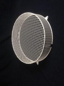 Wire mesh cock guard