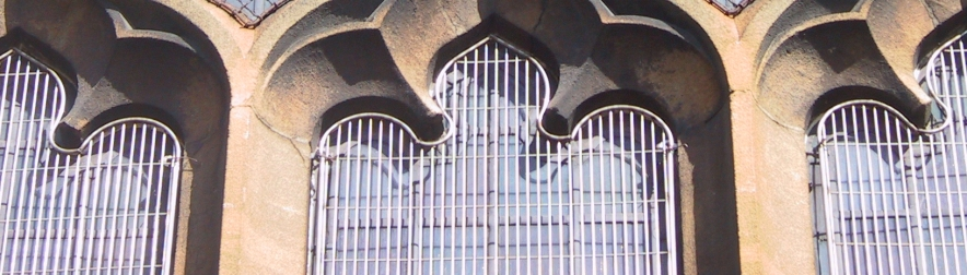 AIANO – making weld mesh window guards for churches