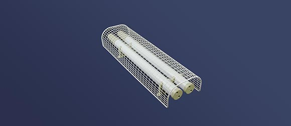 Guarding heaters fitted with Dimplex TTHLK tubular heater linking kit