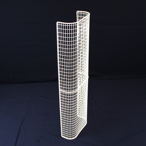 STG32/LK – thermostatic tubular heater guard upright view