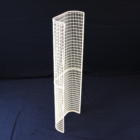 STG32/LK – thermostatic tubular heater guard back view