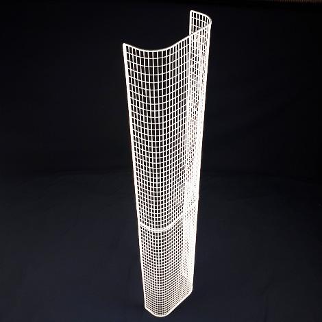 STG52/LK – thermostatic tubular heater guard upright view